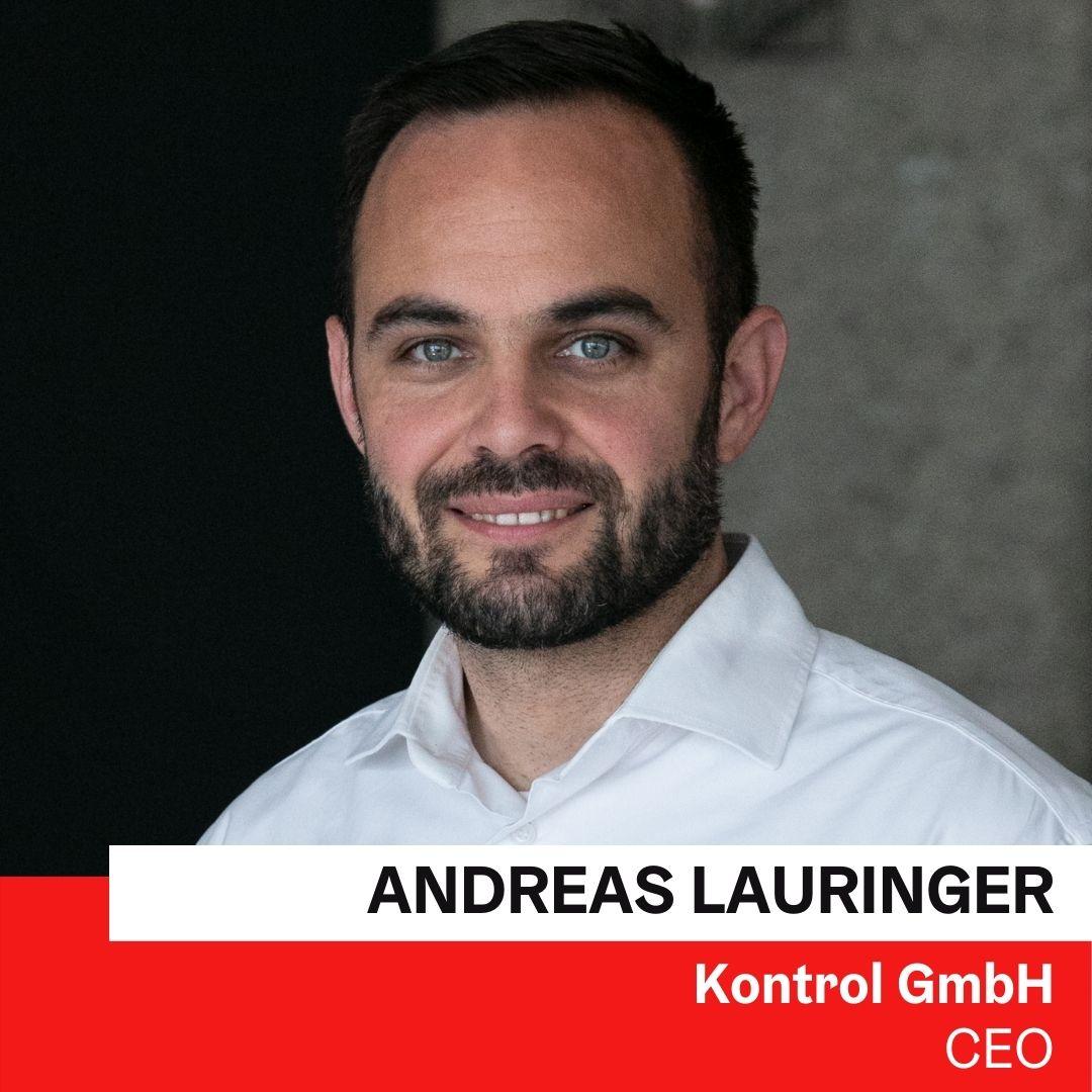 Andreas Lauringer | Kontrol GmbH ©Kontrol GmbH