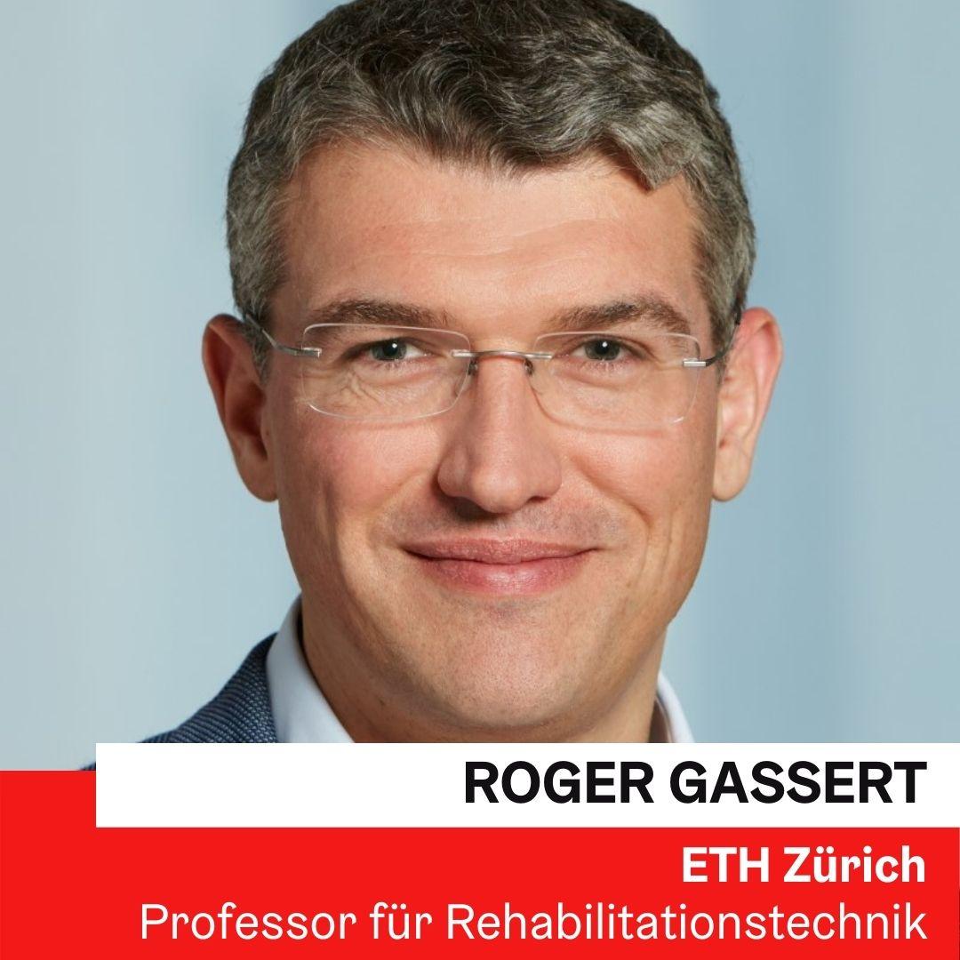 Prof. Dr. Roger Gassert | ETH Zürich ©ETH Zürich