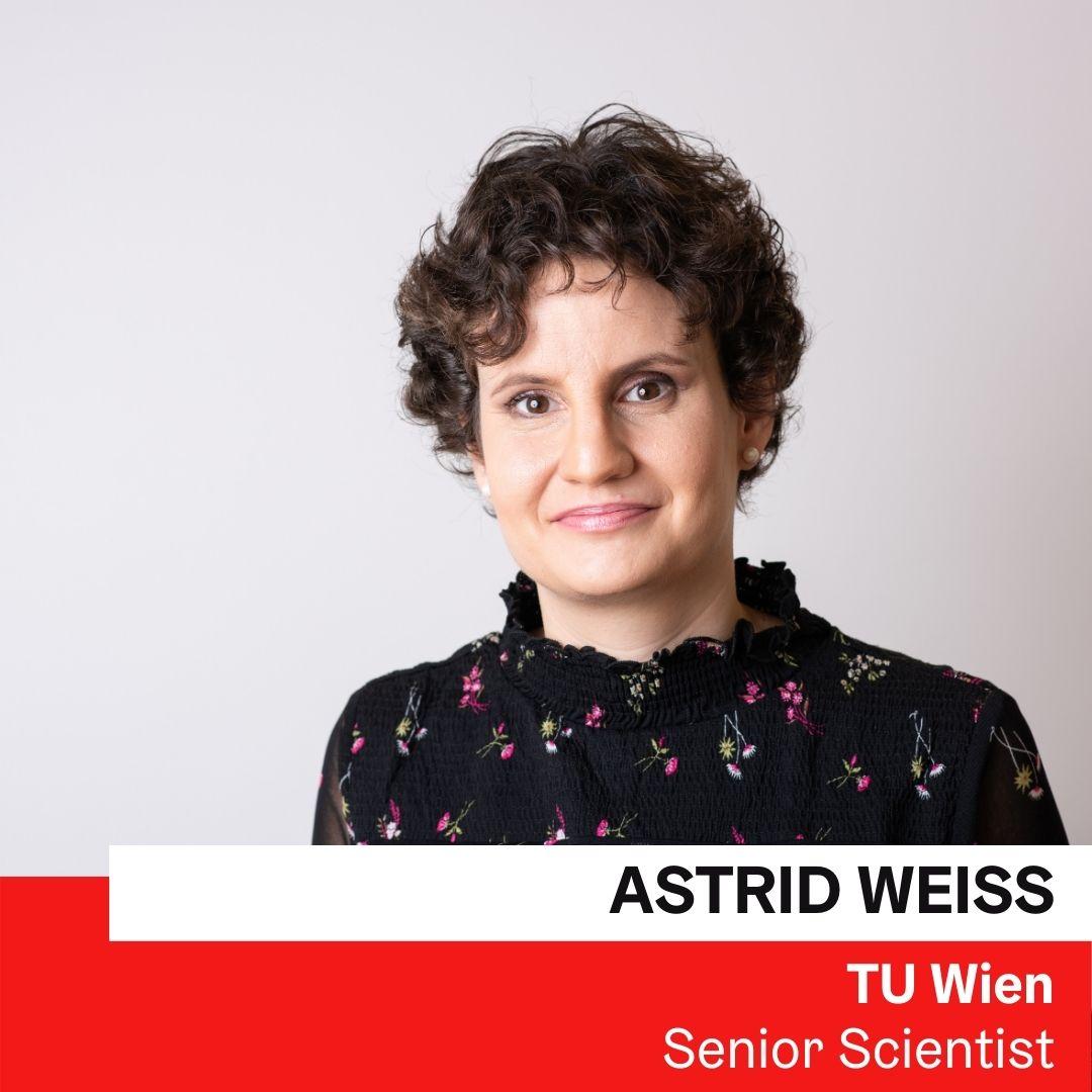 Dr. Astrid Weiss | TU Wien ©Luiza Puiu