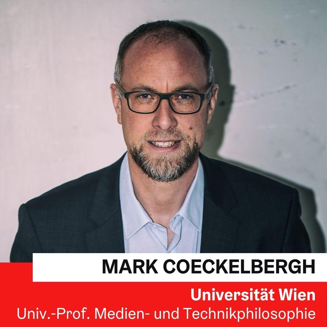Dr. Mark COECKELBERGH, Universität Wien © Martin Jordan