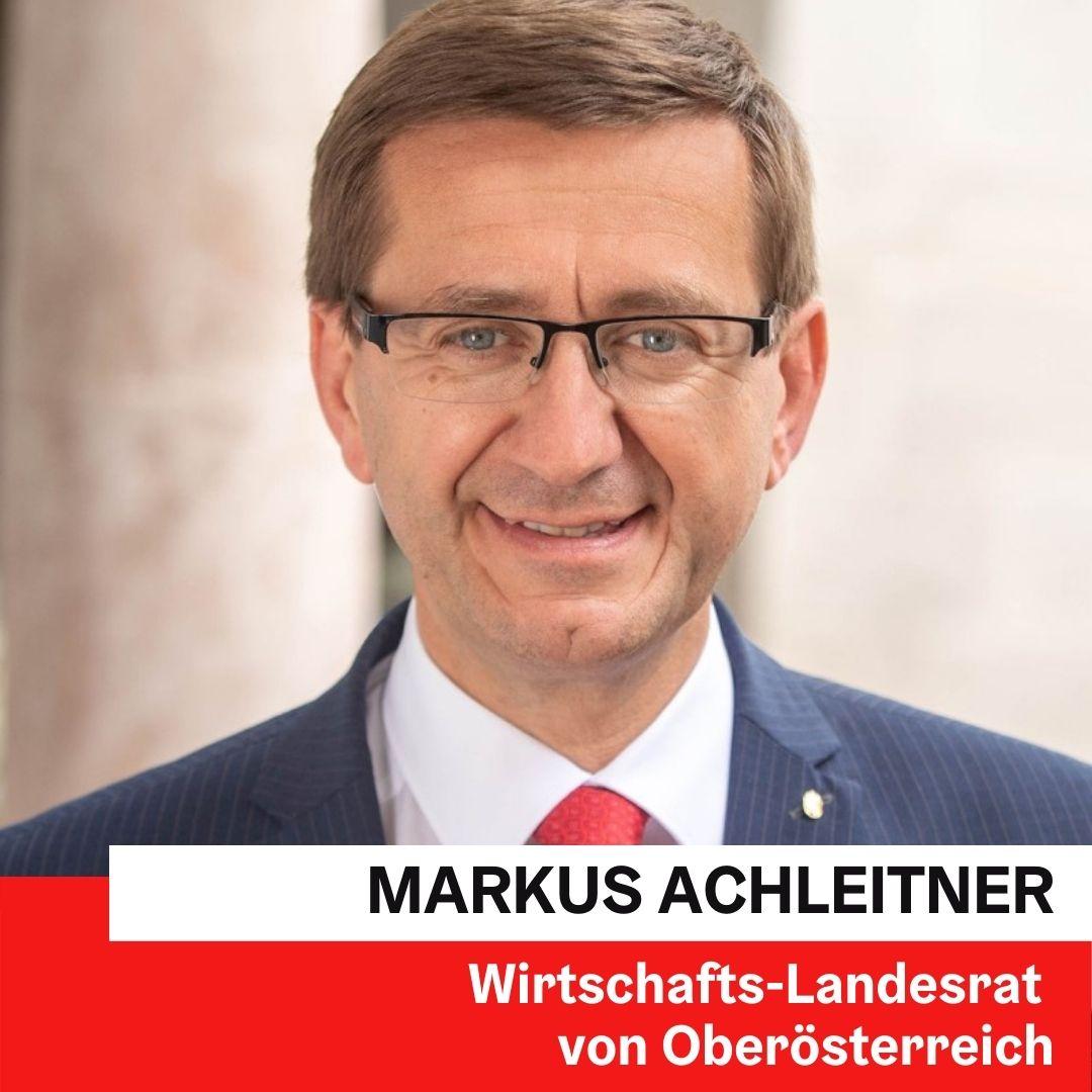 Wirtschafts-Landesrat Markus Achleitner ©Land OÖ