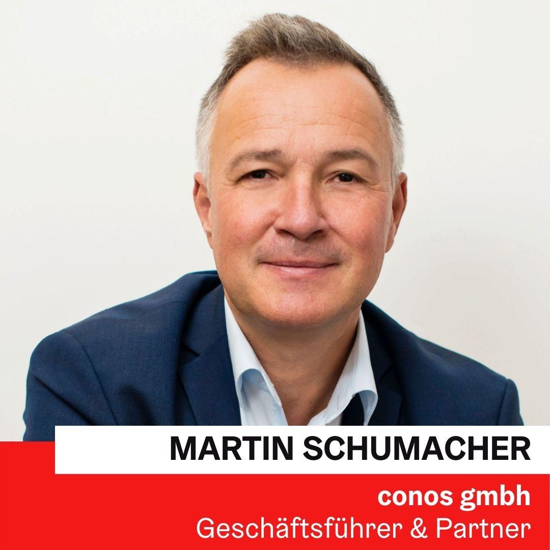 Dr. Mag. Martin Schumacher, MET | conos gmbh © Claudia Blake