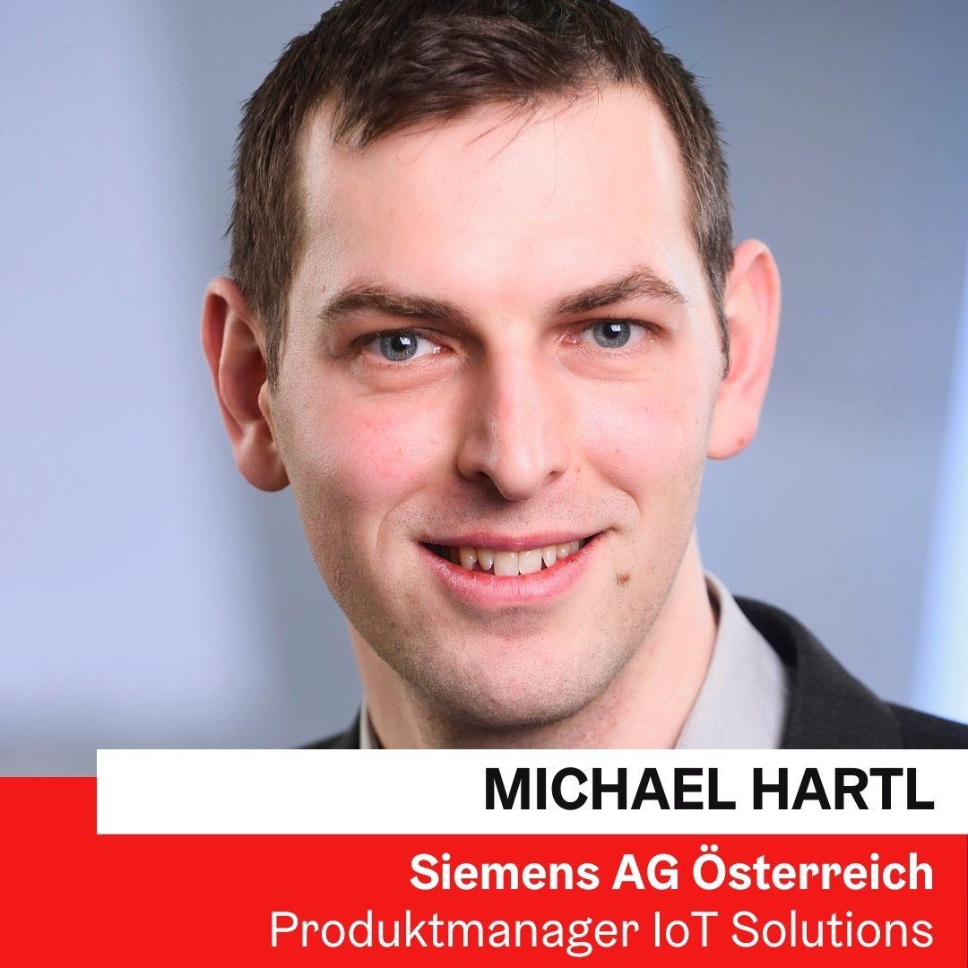 Dr. techn. Michael Hartl | Produktmanager Siemens AG Österreich © Michael Hartl