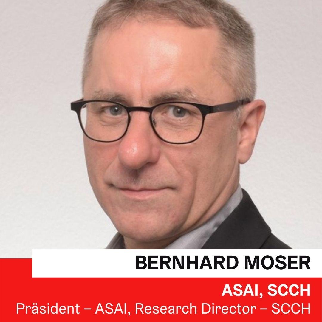 Priv.-Doz. Dr. Bernhard Moser | SCCH, ASAI ©Foto:privat