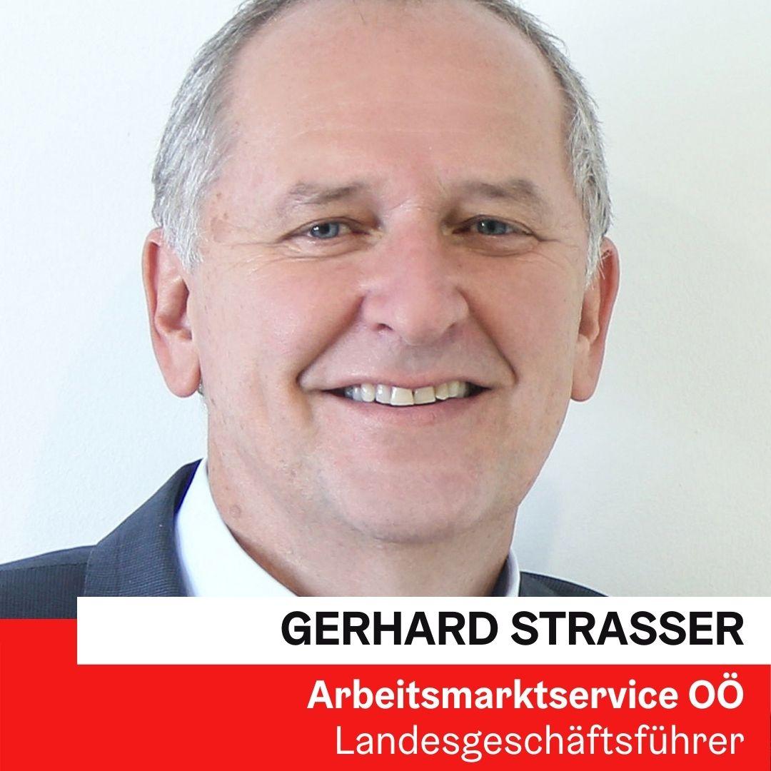 Gerhard Straßer | Arbeitsmarktservice OÖ ©Volker Weihbold